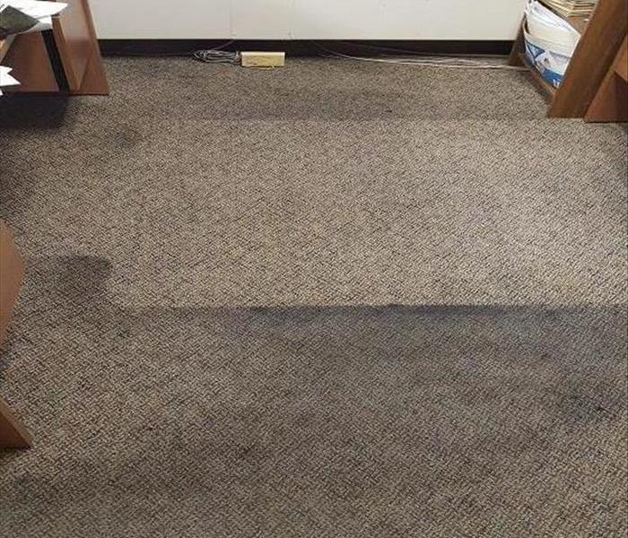 Work, Work, Work! Offices benefit from carpet cleaning in Waterloo, Iowa! Before