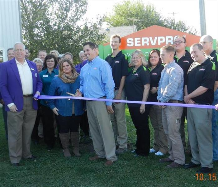 SERVPRO Black Hawk County Ribbon Cutting