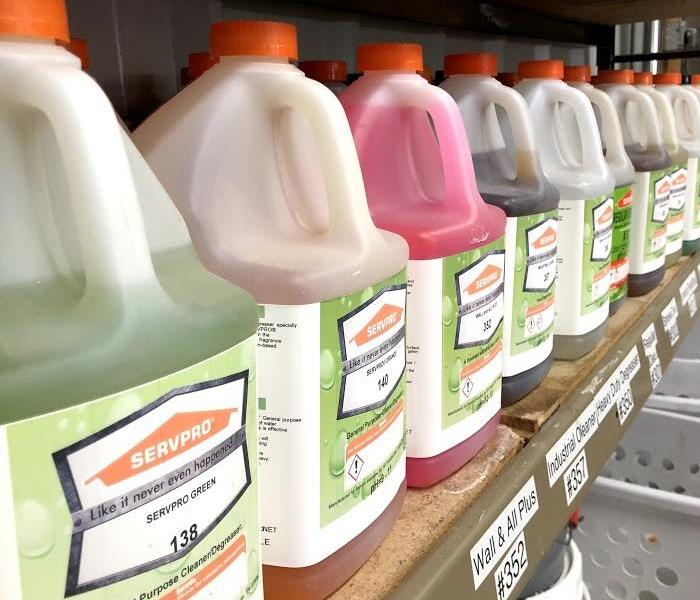 Commercial SERVPRO Professional Cleaning Products Division