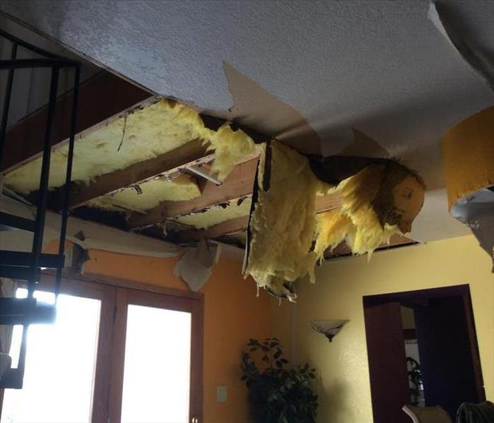 Storm Damage When Storms or Floods hit anywhere from Black Hawk County to New Hampton, or even Grundy Center, SERVPRO is ready!
